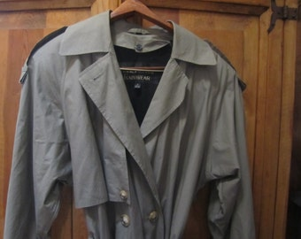 Womens Anne Klein II Rain Coat  Size 4