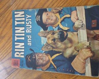 Rin Tin Tin and Rusty 31 comic book