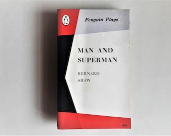 Bernard Shaw - Man and Superman - 1962 - Penguin Plays - Paperback books - Second hand books