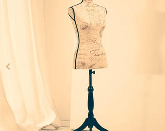 Dress form designs boutique mannequin displays for clothing, jewelry, craft show stand