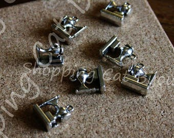 18pcs schoolbag Charms silver tone schoolbag Charms pendants 15x16mm