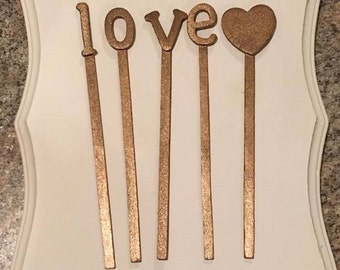 Cake Toppers, Wooden Cake Toppers, Letter Cake Topper, Number Cake Topper, Sweet 16, Over the Hill, Wedding, Cake Keepsake