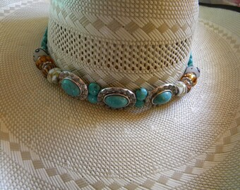 Customize A Bling'd Hat Band for Summer