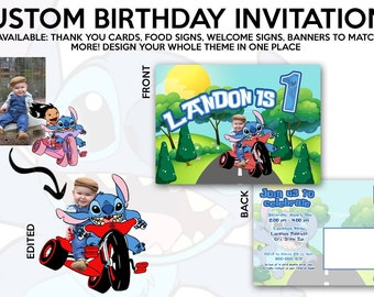 Custom Invitations, Party Decor and More!