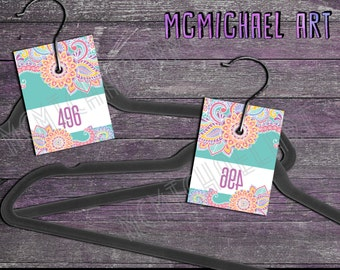 Hanger Numbers - Perfect for Facebook Live Sales!! (1-500 normal and mirrored!)