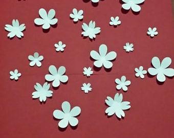 Paper Wall 3D Flower