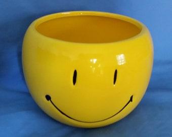 Smiley Face Planter Mug