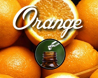 Pure Sweet Orange Essential Oil for Diffuser, 10ml Euro Dropper Bottle