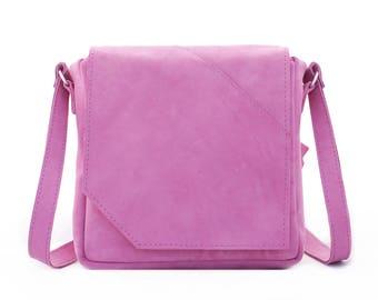 """Pink crossbody bag """"Rose"""""""