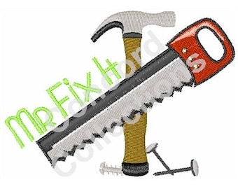 Fixing Tools Machine Embroidery Design
