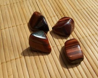 Red Tiger Eye, Tigers Eye, Red Tigers Eye,Tumbled Stone, Tumble Stone, Tumbled Crystals, Semi Precious Stones, Chakra Stones,Healing Stones,