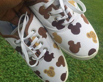 Mickey waffle shoes