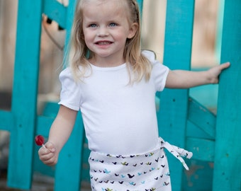 INSTANT DOWNLOAD- Ruby Skort (Size 2T months to Size 8) Pdf Sewing Pattern and Tutorial