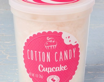 Cupcake Cotton Candy