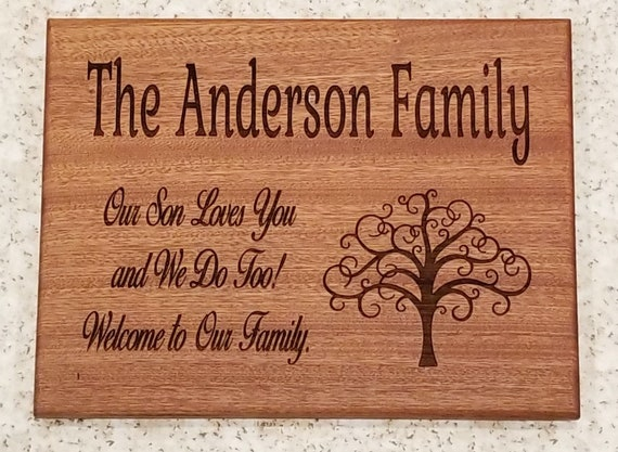 Personalized Cutting Board Wedding Gift Bridal Shower Gift Cutting Board Wedding Gift Custom Bridal Shower Gift from Mother of the Groom