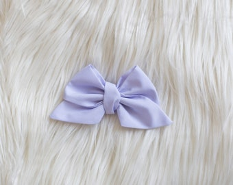 Light Purple LITTLE Darling Bow - Light Purple Baby Bow - Baby bow - Hair Clip - Baby Head wraps - Baby Head wrap - Big Baby Bow - Large Bow