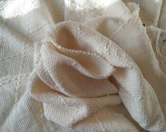 Copertina per neonati in lana merinos (Telaio)
