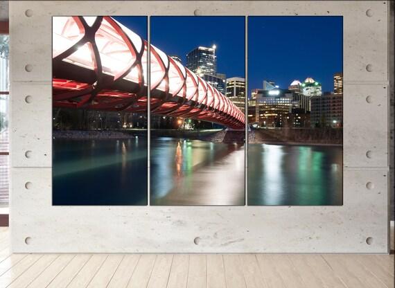 Calgary  canvas wall art Calgary wall decoration Calgary canvas wall art art Calgary large canvas wall art  wall decor