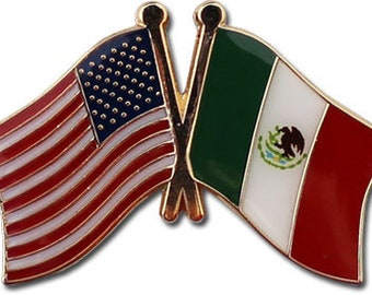 Mexico Friendship Pin