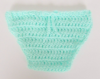 Pastel Mint Green Diaper Cover 1 2 3  Months  Old  Baby Girl  Soaker Newborn Boy Reborn Nappy Cozy Ready To Ship