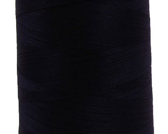 Organic Cotton Thread, 5,000 meters/spool, Multi-Purpose, GOTS Certified, Eco-Friendly Dye, Midnight Blue
