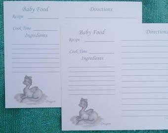 Recipe cards baking recipe cards elephant baby food recipe recipe cards baking recipe cards dragon baby food recipe cards baby food recipe forumfinder Choice Image