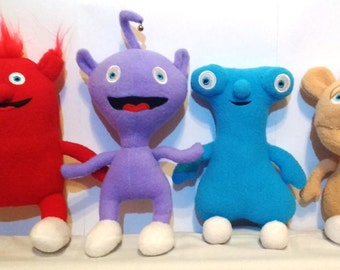 Rare Soft Plush Just Like The Cuddlies from Baby TV *BRAND NEW*