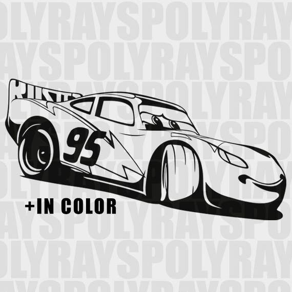 Lightning Mcqueen Svg Cars New Skin Svg Instant Download
