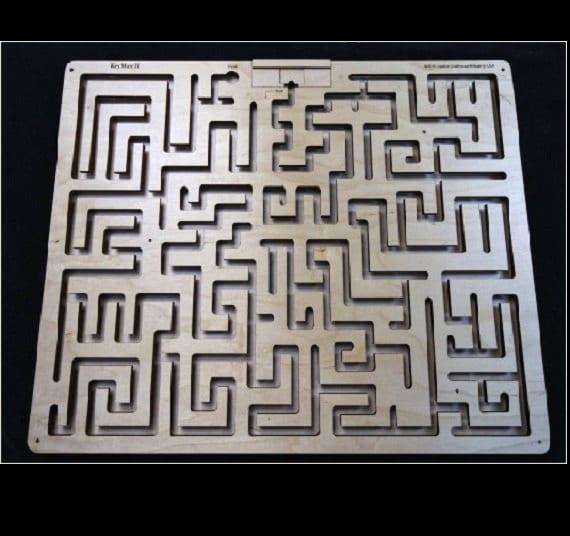 Escape room key maze for Escape puzzle