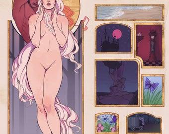 The Last Unicorn 11x17in Print
