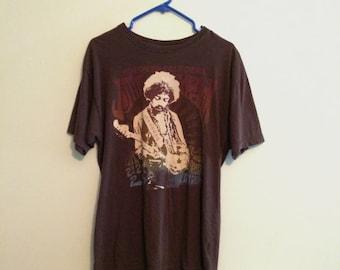 Jimi Hendrix Vintage Men's Band Tee - Size XL