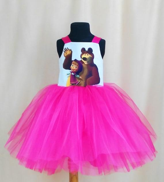 Masha And The Bear Birthday Dress Masha and the Bear TuTu