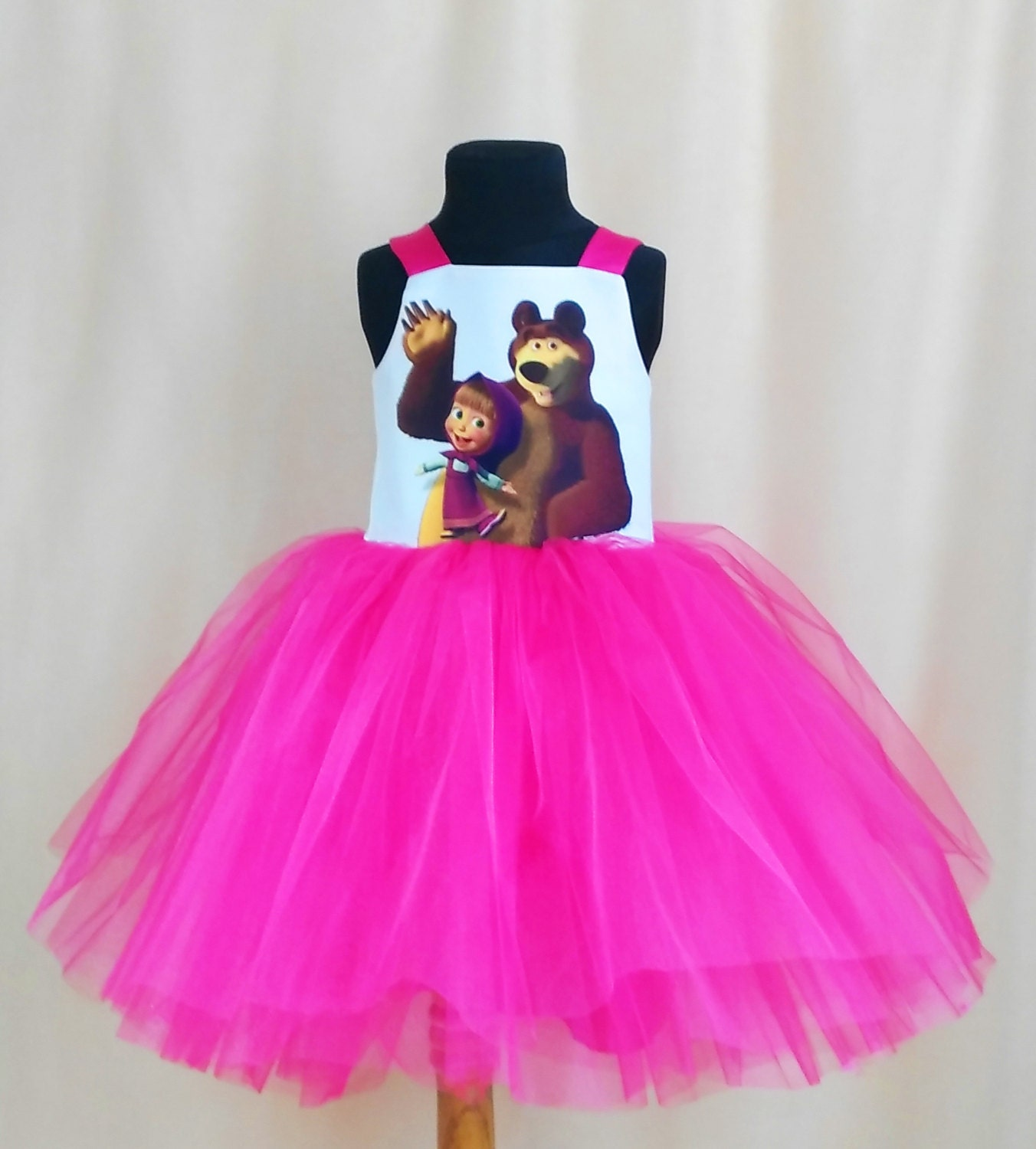 Masha And The Bear Birthday Dress Masha and the Bear TuTu