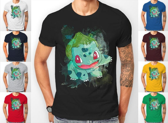 Pokemon  Bulbasaur starter's catch 'em all Tee shirt T-Shirt