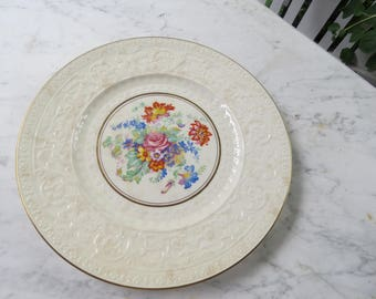 "NEW PRICE Vintage 1950s Wedgewood 11"" Dinner Plate"