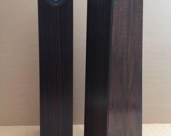 Blackwoods - Stereo pair floorstanding HiFi speakers