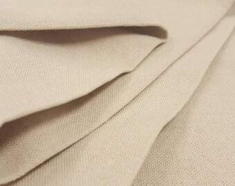 1 yard Rayon Linen Blend  - Natural