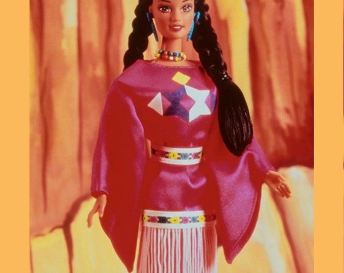 TOYS- Barbie American Indian Dolls of the World Collection- 3rd in Series- In Original Unopened Box