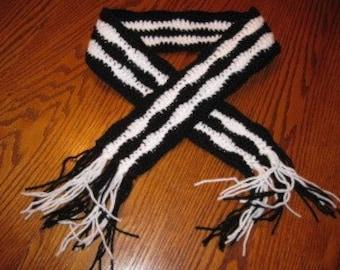Zebra Scarf - small size