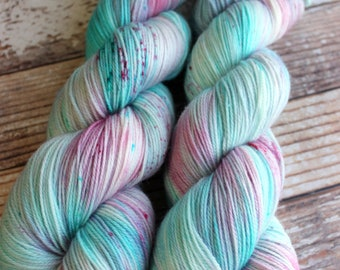 Ines - Seascape - Hand Dyed Yarn - 100% Super Wash Merino
