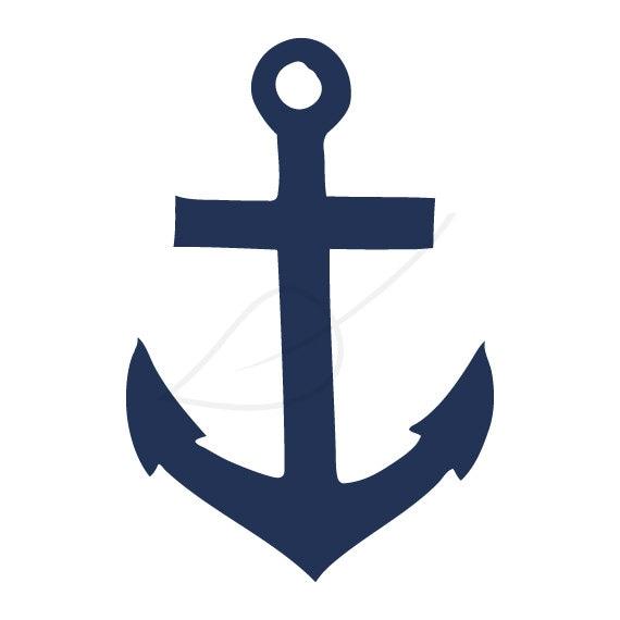 anchor digital stamp clip art in navy and black rh etsy com navy clip art border frames navy clipart free