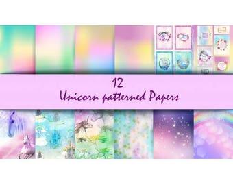 Nini's Things Paper Kit - Unicorn - Physical Copy