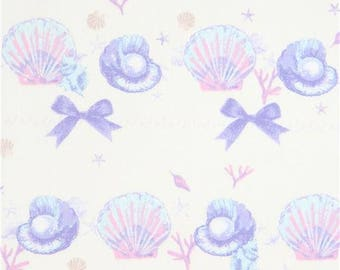 218122 cream with seashell oxford fabric from Japan