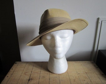 Original Straw Panama by ADAM's USA. Barbosa Straw Panama. Fabulous Millinery