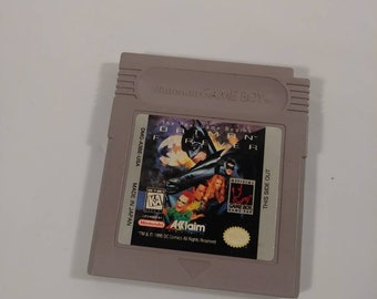 Original Nintendo Gameboy Aklaim Batman Forever Handheld Video Game
