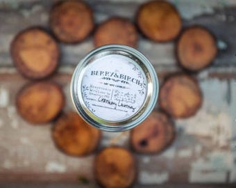 EARL GRAY & APPLE  Soy Candle-Non-Toxic-Eco-Friendly-Renewable