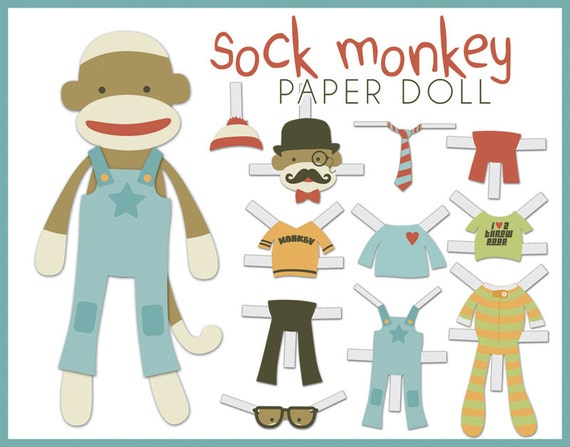 Paper Doll Craft Printable
