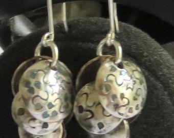 Cascade earrings.