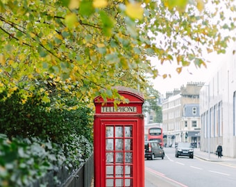 London Telephone Booth // Red Phone Booth, London Phone Booth, London Telephone Booth, Red London Telephone Booth, Phone Booth England