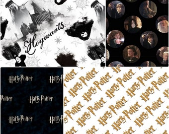 Harry Potter Digitally Printed Cotton Fabric by Camelot Cotton! [Choose Your Cut Size]